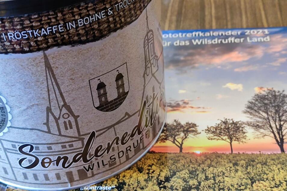 Als Dank für seine Arbeit erhielt jeder Stadtrat eine Überraschungsdose mit Kaffee und Schokolade sowie einen Kalender vom Wilsdruffer Fototreff.