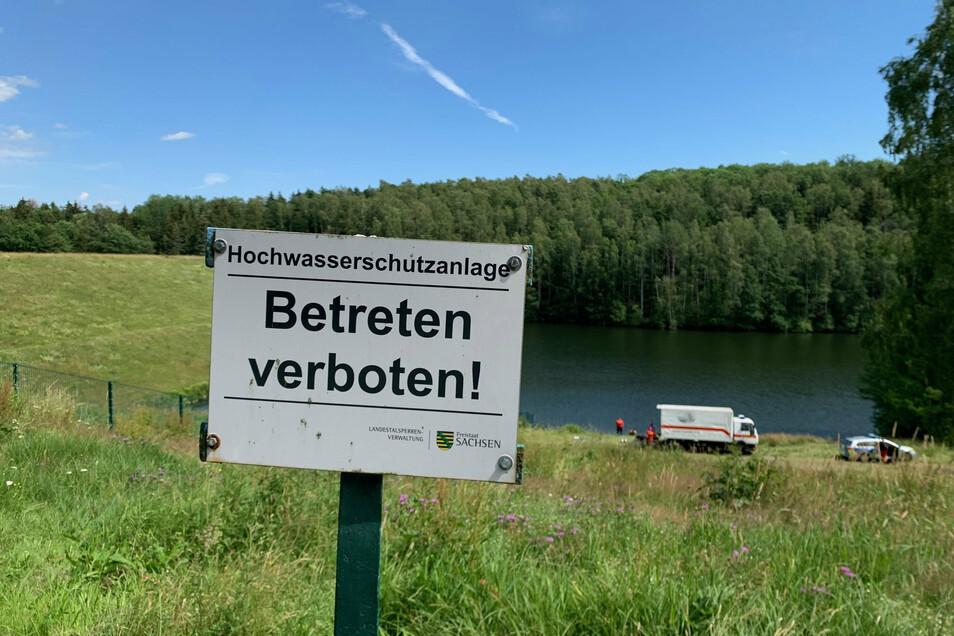 In sächsischen Gewässern sind 2020 neun Menschen ums Leben gekommen - hauptsächlich an ungesicherten Badestellen.