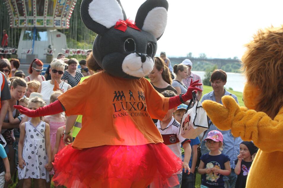 Kids-Party auf der Sport- und Erlebnismeile Elbe