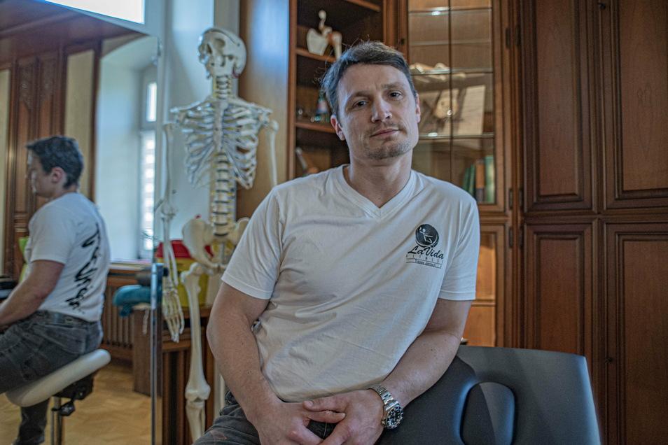 Geschäftsmann Tobias Jantsch aus Kamenz will den Beschäftigten im Gesundheitswesen zu Silvester mit einer besonderen Aktion Dankeschön sagen. Dafür hat Bischofswerda ausgesucht.