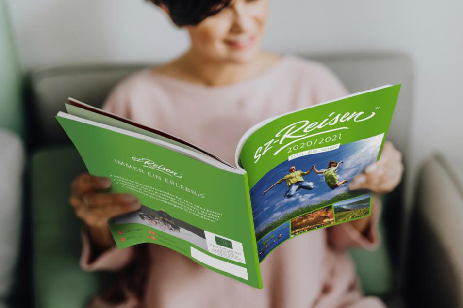 Über 300 Reisen bietet der neue Katalog 2020/2021 von sz-Reisen.