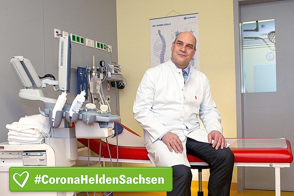 Dr. Christian Schmidt ist Arzt an der Asklepios Sächsische-Schweiz-Klinik in Sebnitz.