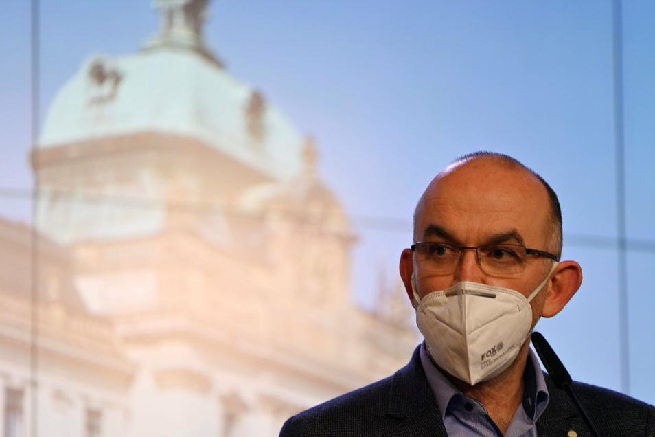 Jan Blatny, Gesundheitsminister von Tschechien.