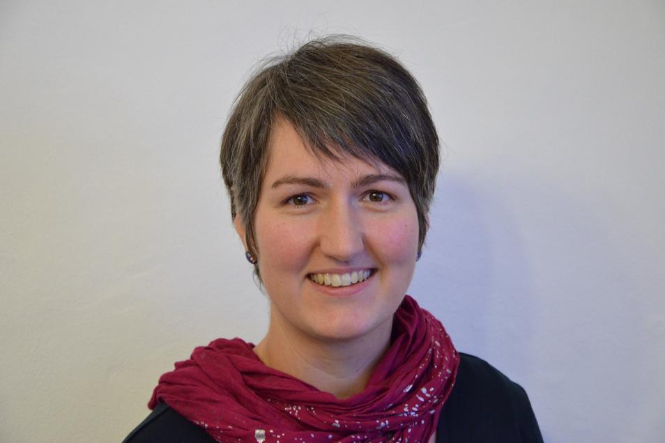 Anja Philipp ist die neue Jugendmitarbeiterin des Kirchenbezirks Freiberg.
