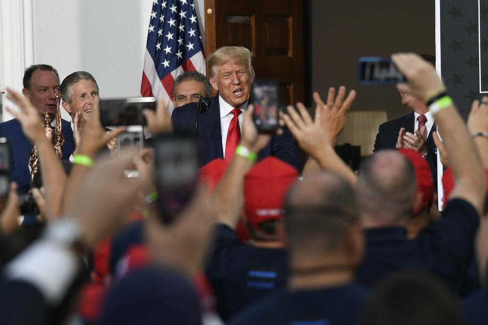 US-Präsident Donald Trump ist auch bei den Demokraten omnipräsent.