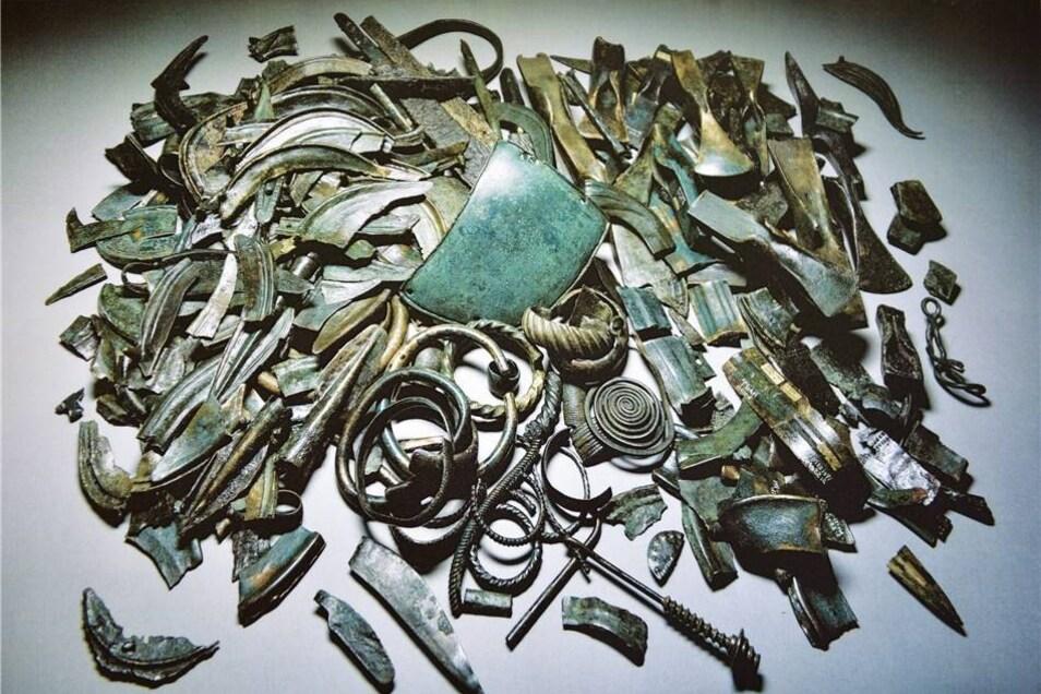 Die Fundstücke aus der Bronzezeit