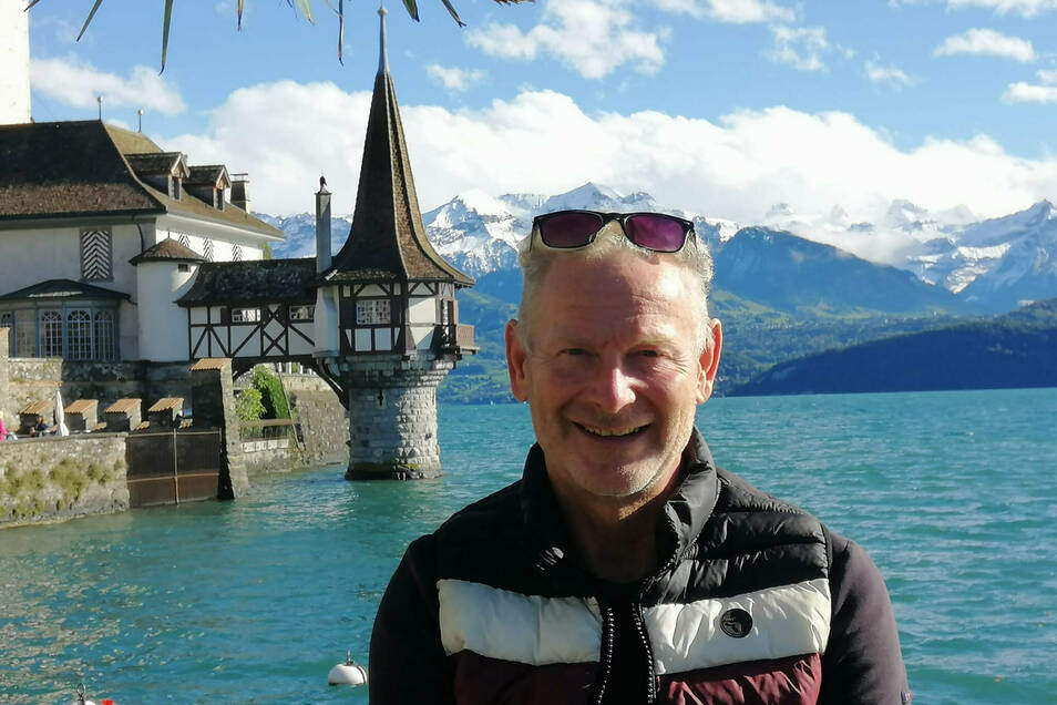 Hier ist Jürg Wisbach seit sieben Jahren zu Hause: am Thunersee unweit der Schweizer Bundesstadt Bern.