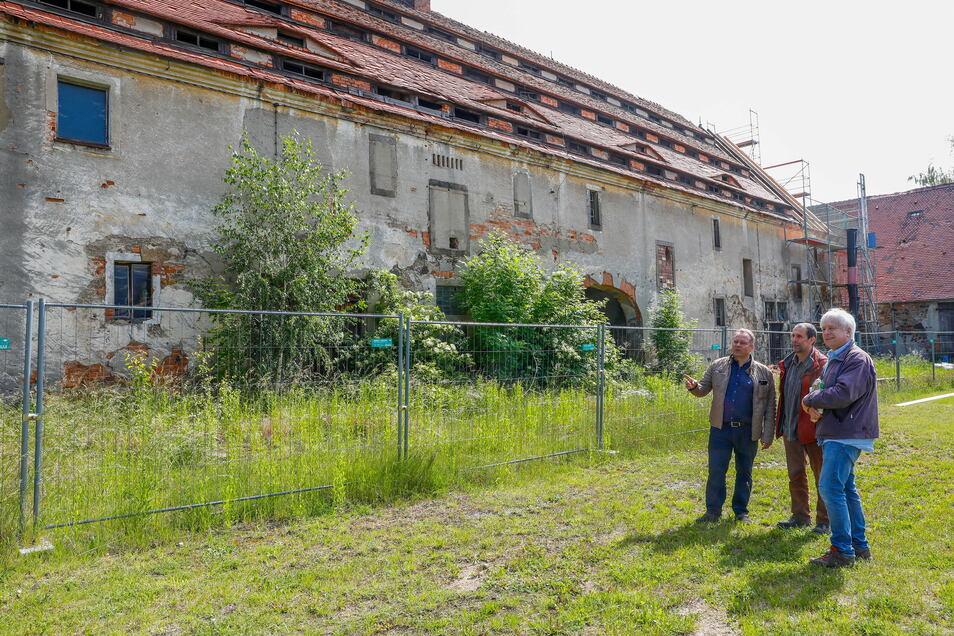 Die Riesenscheune in Großhennersdorf kann weiter saniert werden.