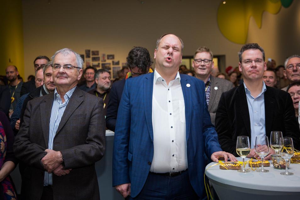 """""""Das tut weh"""", sagt der Gesichtsausdruck von Dresdens Oberbürgermeister Dirk Hilbert (FDP) kurz nach der Verkündung der Kandidaten auf der Shortlist für die Kulturhauptstadt. Dresden war nicht darunter."""