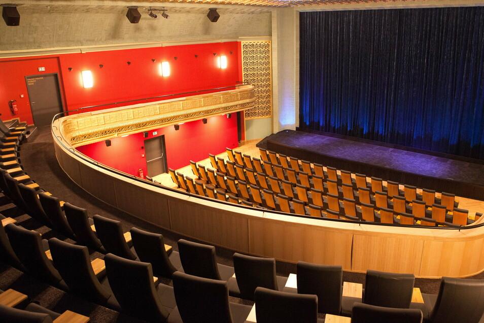 Innenaufnahme des Palast-Theaters in Görlitz, neuer großer Saal.