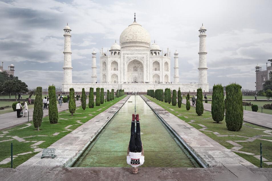 Taj Mahal Head Freeze!