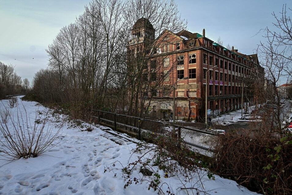 Der ehemalige VEB Polygraph im Stadtteil Anger-Crottendorf in Leipzig.