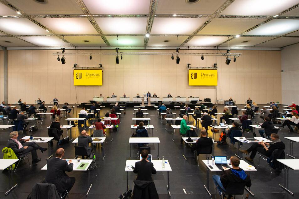 Im Dresdner Stadtrat gab es heftige Debatten um Sozialwohnungen.