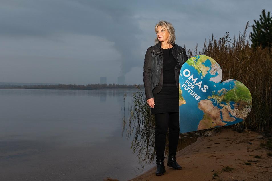 """Cordula Weimann ist die Gründerin der Vereinigung """"Omas for Future"""", die sich mittlerweile in ganz Deutschland ausgebreitet hat"""