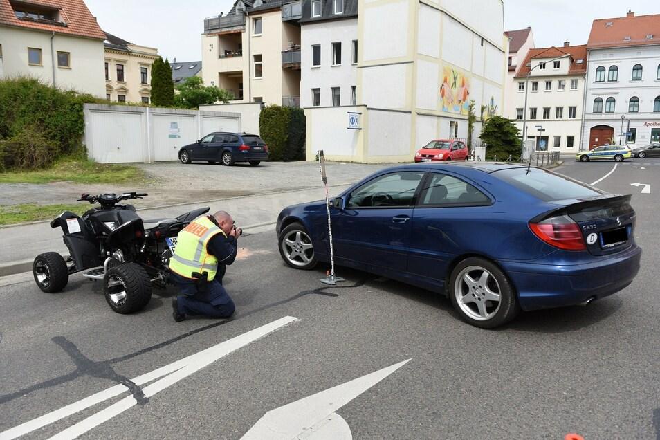 Der Verkehrsunfalldienst der Polizeidirektion Chemnitz hat die Ermittlungen aufgenommen.
