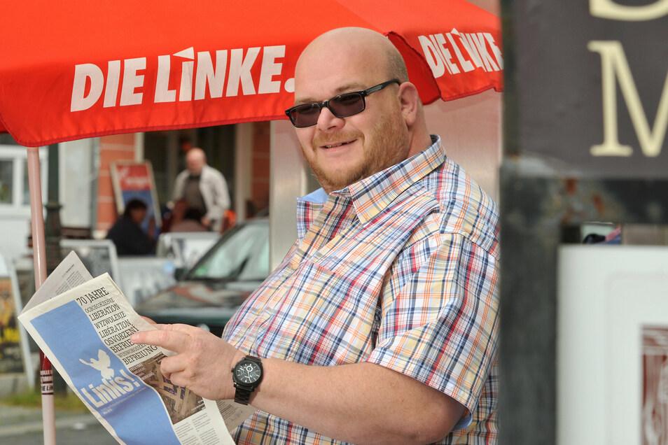 Mirko Schultze fordert von der Stadtverwaltung mehr Transparenz.