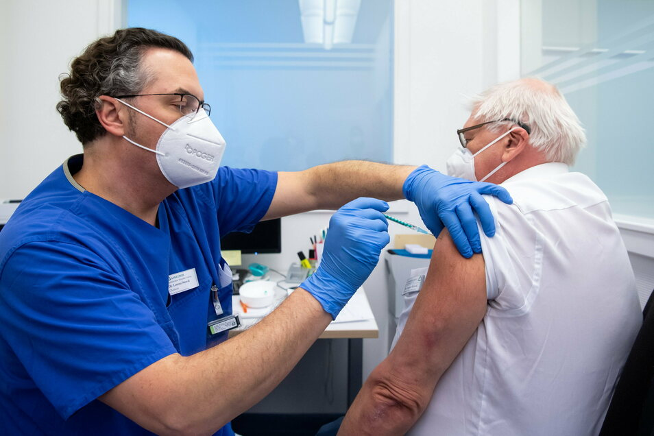 Das Impfen ist angelaufen, im Landkreis Görlitz allerdings bislang nur sehr vereinzelt.