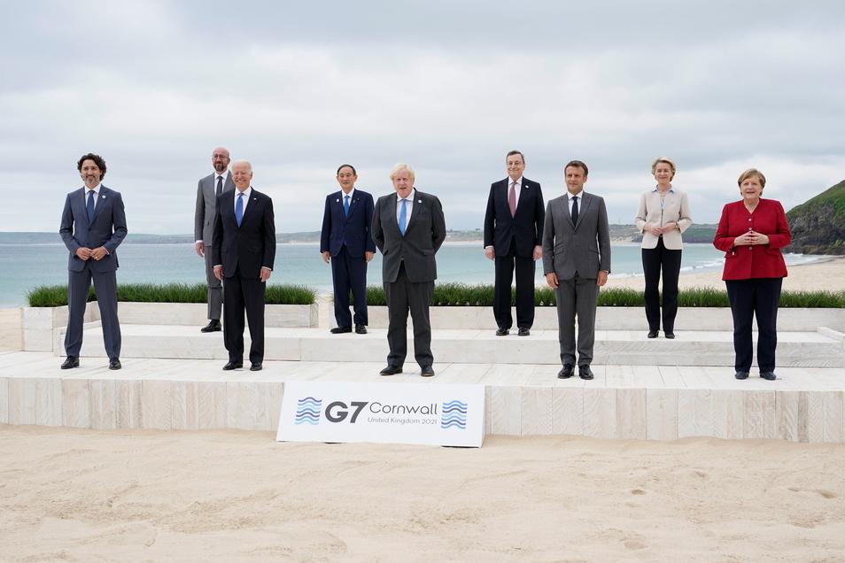 Das Treffen der Staats und Regierungschefs der sieben führenden westlichen Wirtschaftsmächte in Cornwall vom 11. bis 13. Juni war der erste in Präsenz abgehaltene G7-Gipfel seit zwei Jahren.