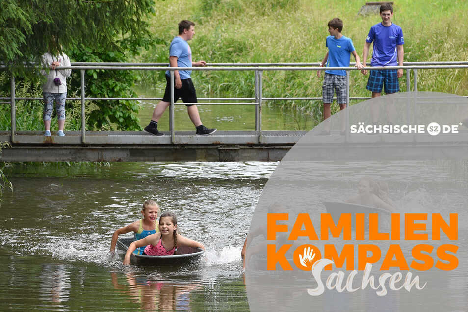 Kippt das Boot oder trägt es? Das haben sich nicht nur die Teilnehmer beim Badewannenrennen 2019 auf der Pließnitz gefragt - das fragen sich auch viele mit Blick in die Zukunft.