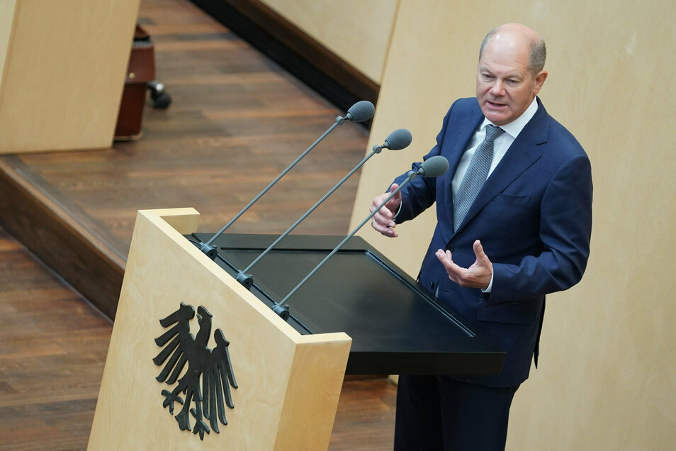 Olaf Scholz (SPD), Bundesfinanzminister, will wegen der Corona-Maßnahmen hohe neue Schulden machen.