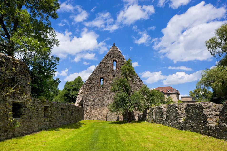 Das Gelände am Kloster in Altzella bietet ausreichend Platz für den Mittelaltermarkt.
