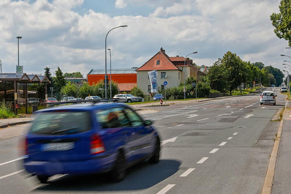 Die B96/Neusalzaer Straße in Zittau wird am Ortsausgang ab 28. Juli ausgebaut.