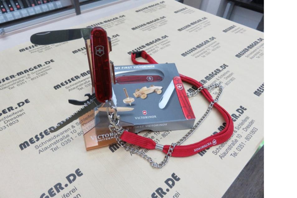 VICTORINOX Kindertaschenmesser Rot mit Säge