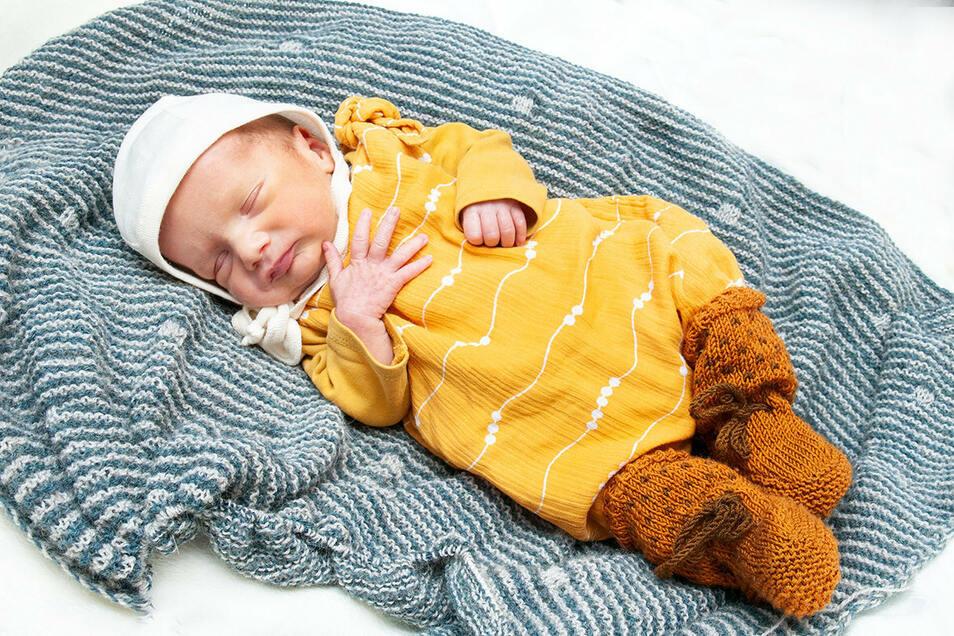 Jan Theodor Mogwitz, geboren am 25. August, Geburtsort: Universitätsklinikum Dresden, Gewicht: 2.650 Gramm, Größe: 44 Zentimeter, Eltern: Sabine und Andreas Mogwitz, Wohnort: Dresden-Loschwitz