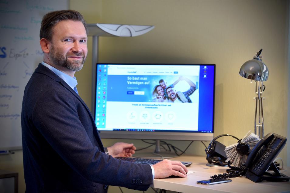 Matthias Wolf ist Finanzexperte aus Löbau. Er hat Tipps für Unternehmer in der Corona-Krise.