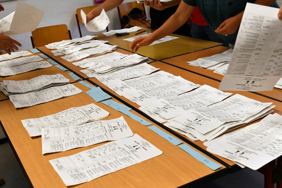 Die Wahl ist auch in Dresden gelaufen - das amtliche Ergebnis liegt vor.