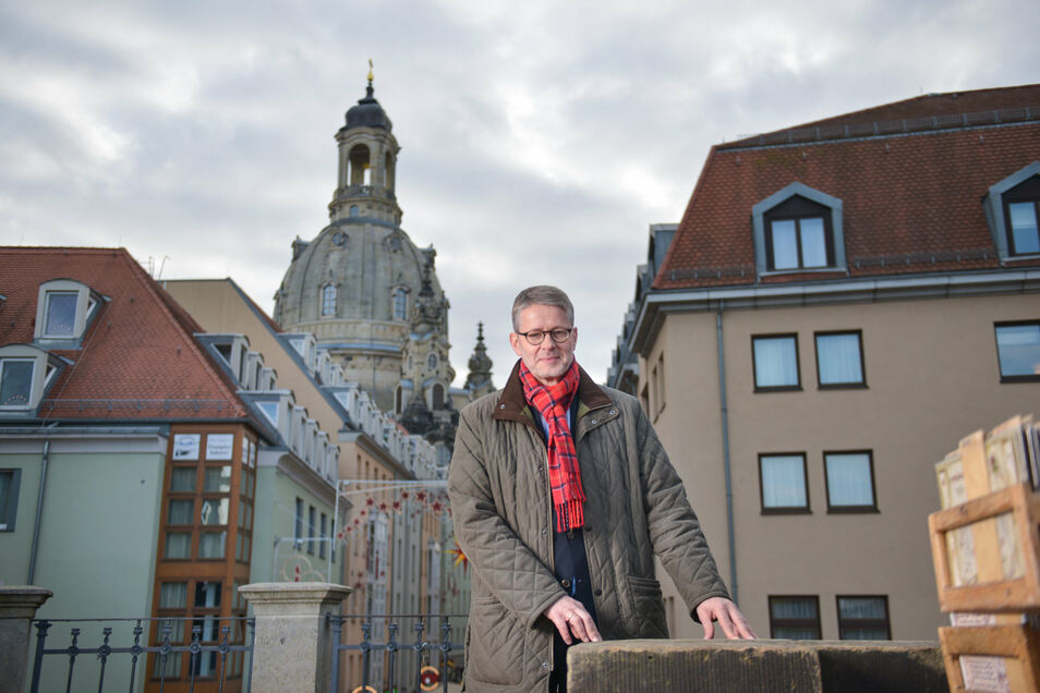 Ehemals Pfarrer in der Frauenkirche: Sebastian Feydt.