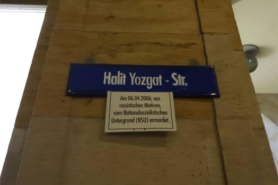 Die Weiße Gasse trägt nun den Namen Halit Yozgats.