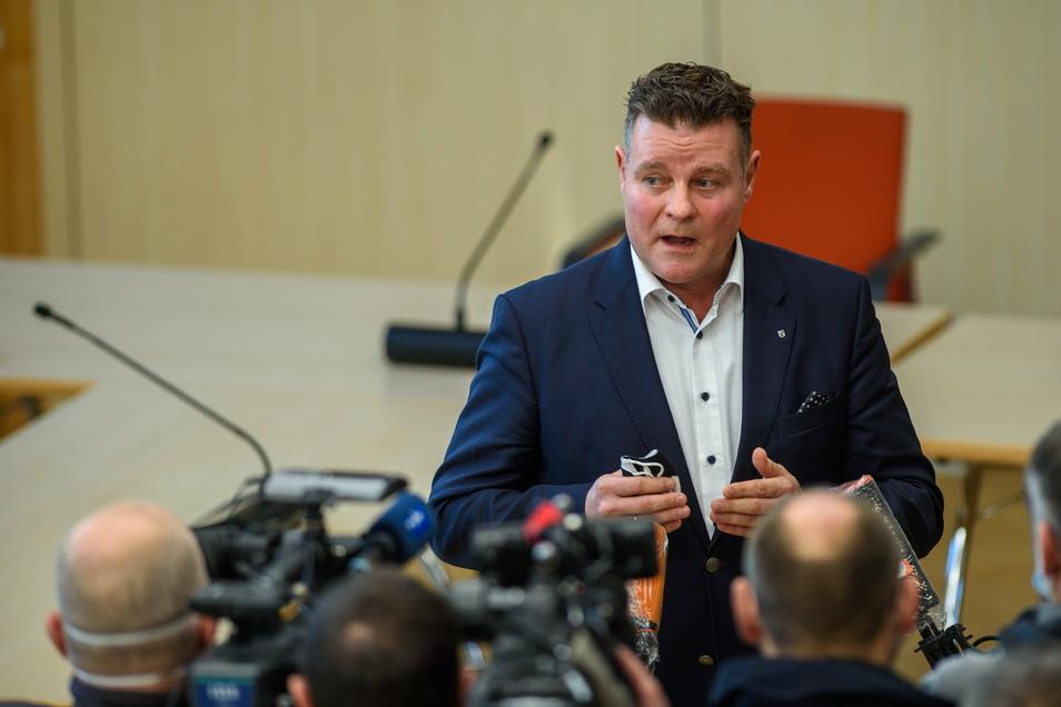"""Markus Kurze, medienpolitischer Sprecher der CDU-Landtagsfraktion Sachsen-Anhalt: """"Ich kann die Größe des öffentlich-rechtlichen Systems keinem mehr erklären, das kann sich kein normales Unternehmen leisten."""""""