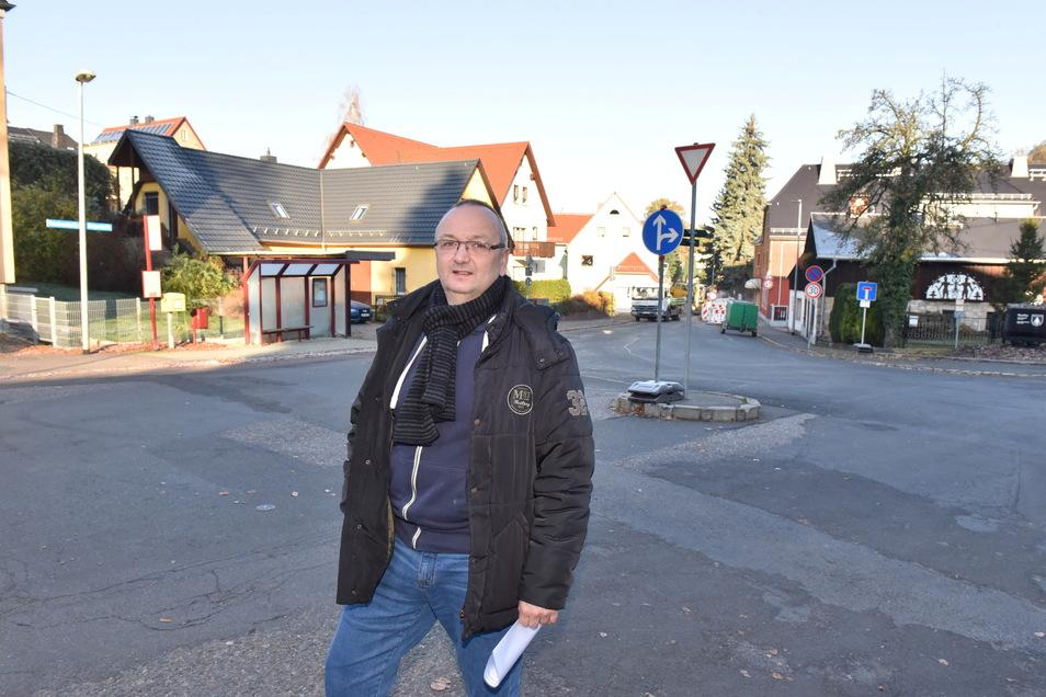 Thomas Käfer, Ortsvorsteher von Kleinnaundorf, ist jetzt auch Stadtrat.