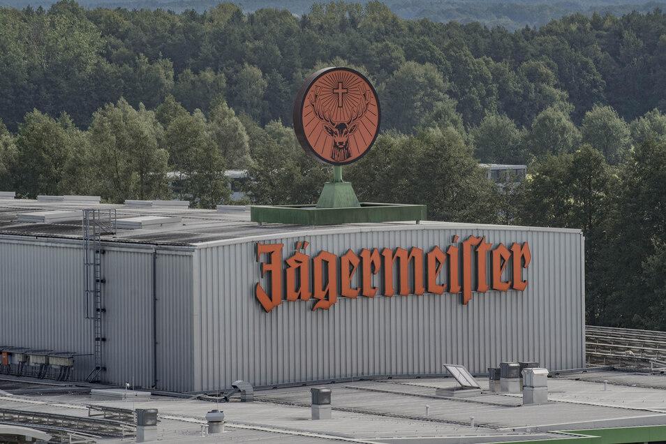 Blick auf das Jägermeisterwerk in Kamenz.
