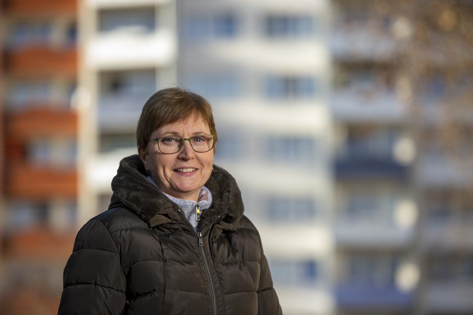 Pia Engel verwaltet und managt mit ihrer Mannschaft 2.200 Wohnungen in Coswig. Nicht nur in der Platte, wo sie auf sozialen Ausgleich achten muss.