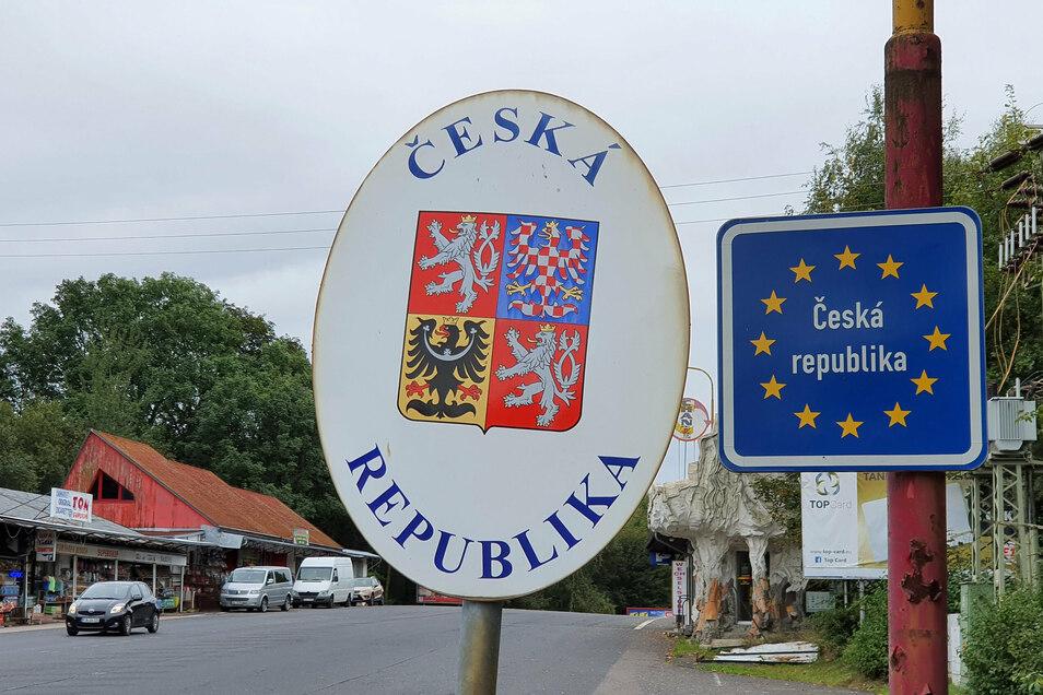 Der Grenzübergang in Peterswald: Tschechien verhängt erneut einen Lockdown.