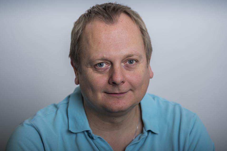 SZ-Sportredakteur Daniel Klein (46)