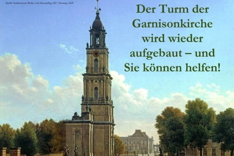 So soll die Potsdamer Garnisonskirche einmal wieder aussehen.