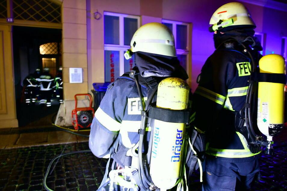 Etwa eineinhalb Stunden waren die Feuerwehrleute im Einsatz.