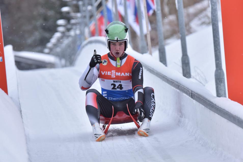 Die Rodelelite trifft sich gern in Altenberg. Weltcup-Rennen haben auf der Bahn im Kohlgrund Tradition.