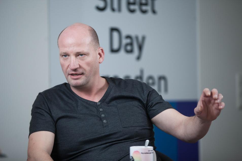 CSD-Chef Ronald Zenker.