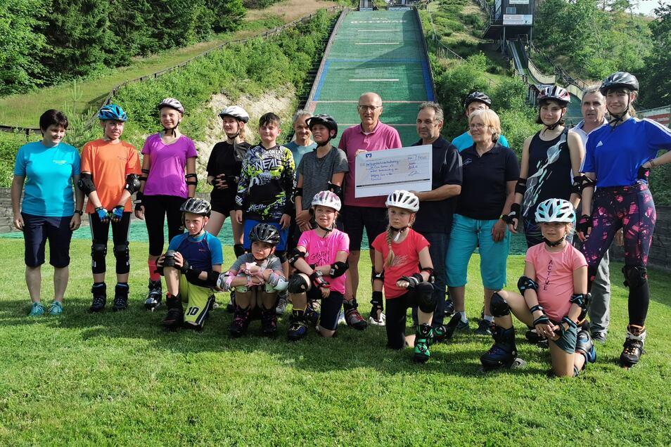 Der Skiclub Kottmar will das Geld unter anderem für die Jugendarbeit nutzen.