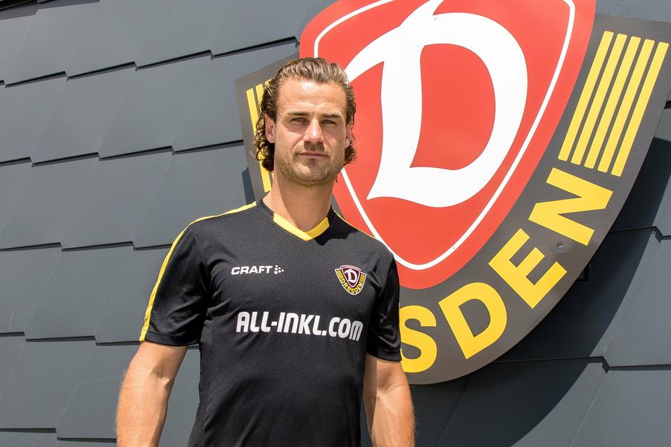Yannick Stark war vor seinem Wechsel nach Dresden fünf Jahre bei Darmstadt 98, ist also oberster Pokal-Experte.