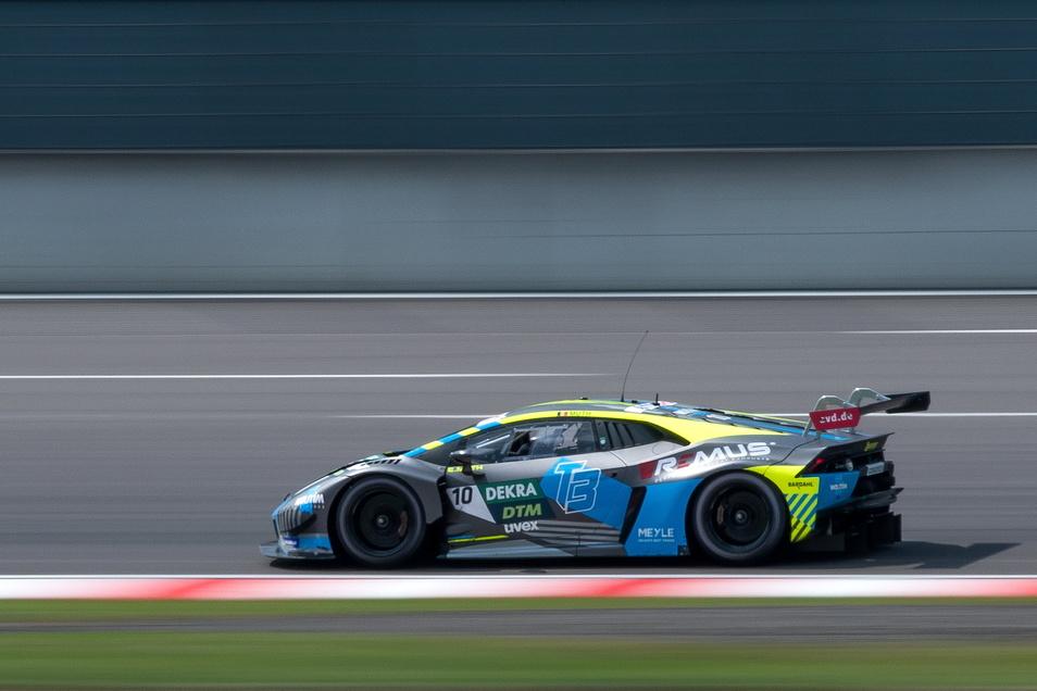 Das Dresdner Team T3 wird beim DTM-Rennen auf dem A1-Ring im österreichischen Spielberg ein drittes Auto einsetzen.