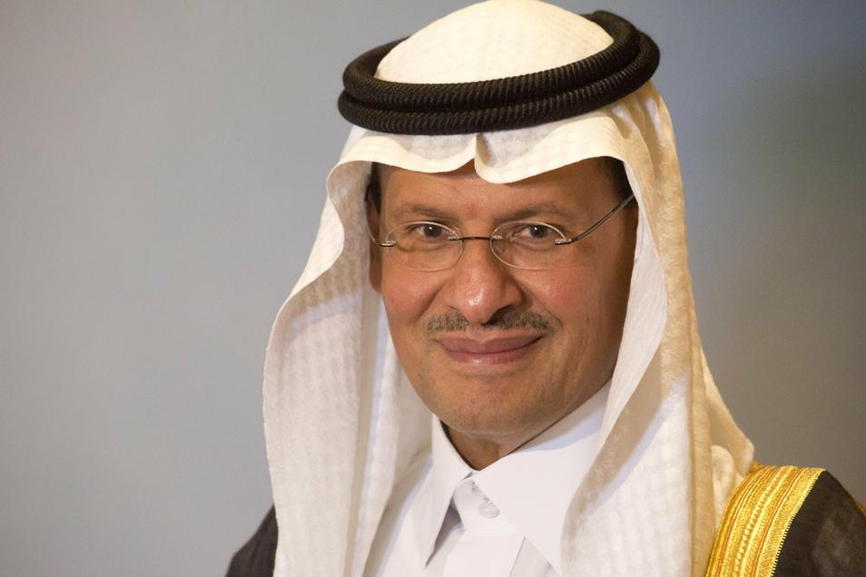 Prinz Abdulasis bin Salman bin Abdulasis al-Saud, Energieminister von Saudi-Arabien.