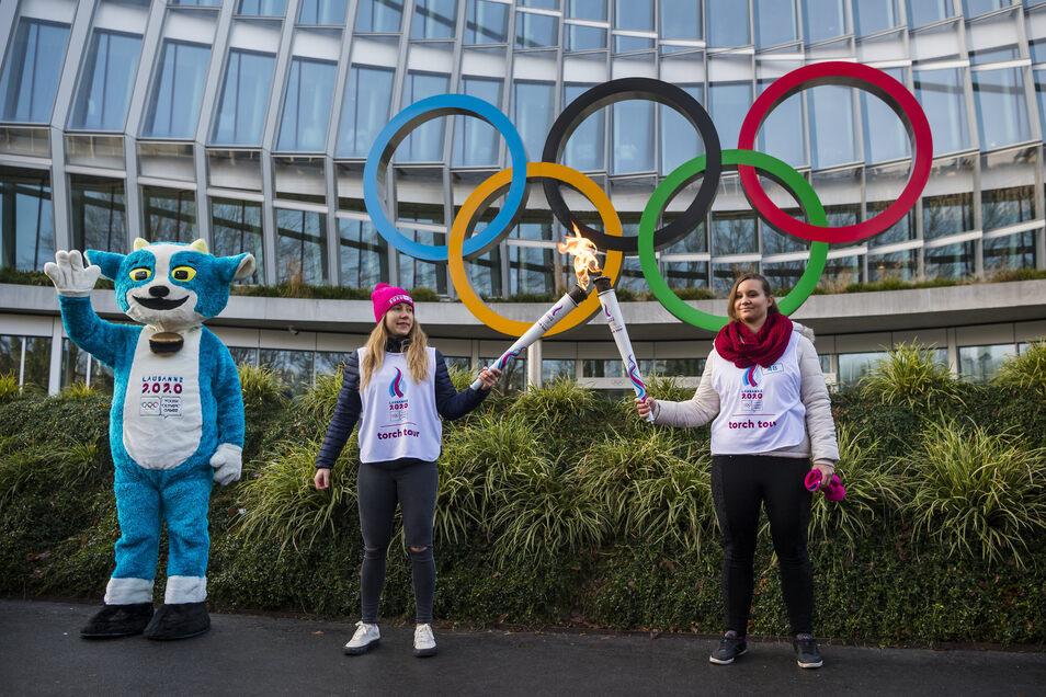 An den Olympischen Jugendspielen nehmen bis 22. Januar rund 1880 Sportler im Alter von 15 bis 18 Jahren teil.