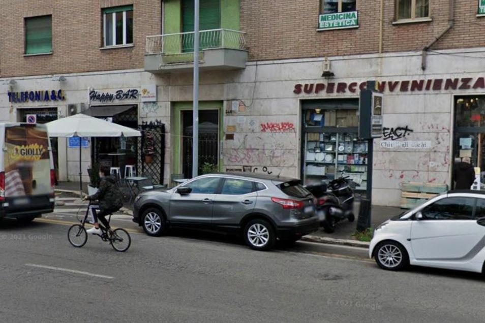 Hier, in der Via Tuscolana 346 in Rom, soll Roberto Petrucci, der vermeintliche Käufer von zuletzt drei Immobilien in Görlitz, zu Hause sein. Doch weder Hausverwaltung noch Nachbarn kennen ihn.