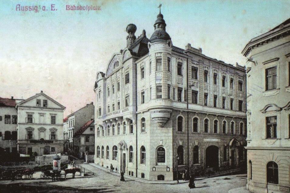 Das Gebäude war einst Sitz des Wiener Bank-Vereins.