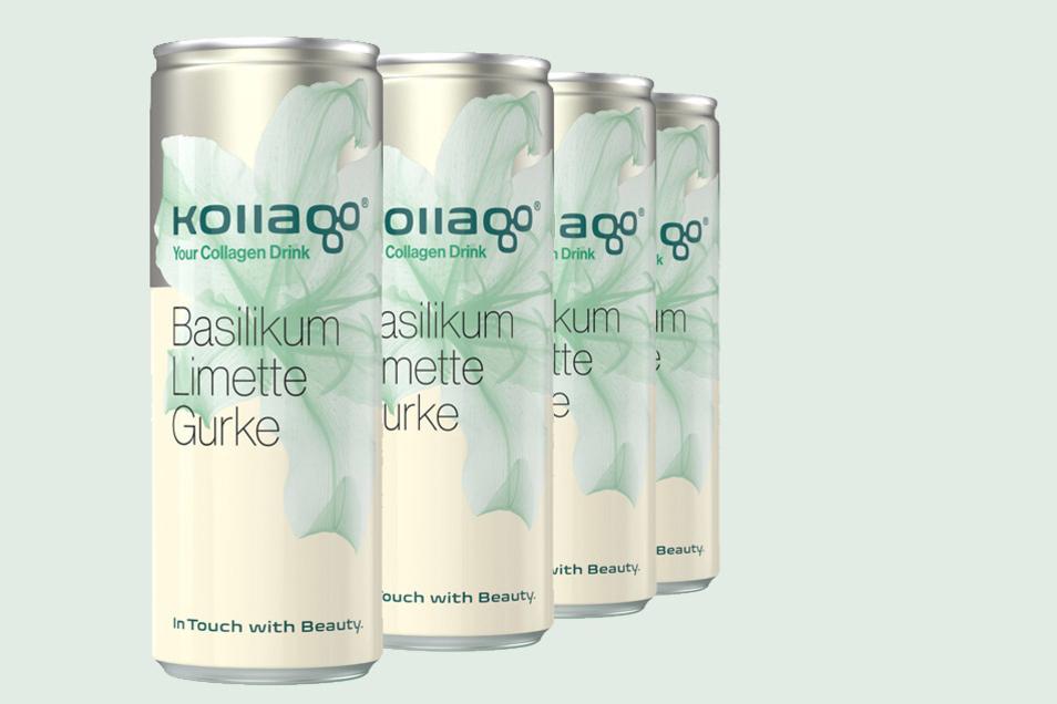 """""""Das mit Kollagen versetzte Erfrischungsgetränk bietet ein neues, exklusives Geschmackserlebnis."""""""